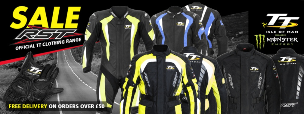 RST Sale Isle Of Man TT Clothing