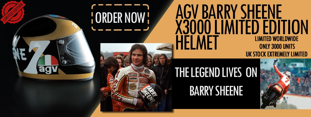 AGV Barry Sheene Helmet