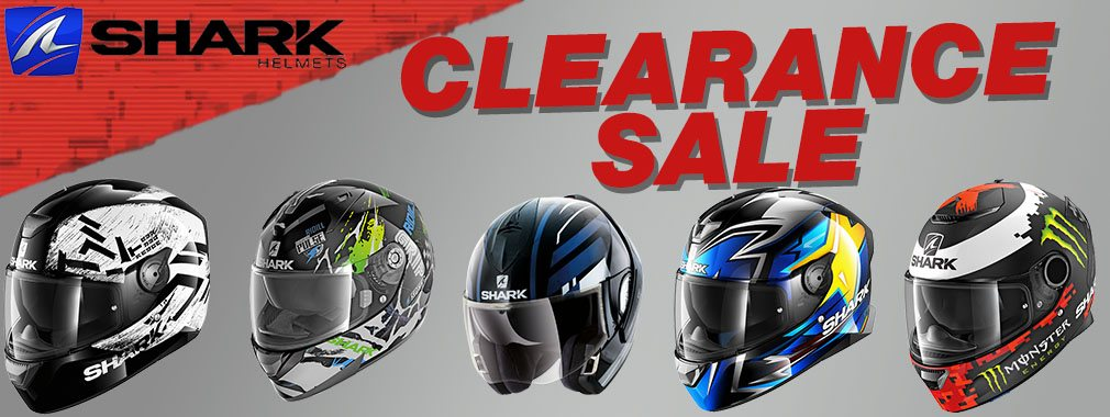 Shark Helmet Clearance