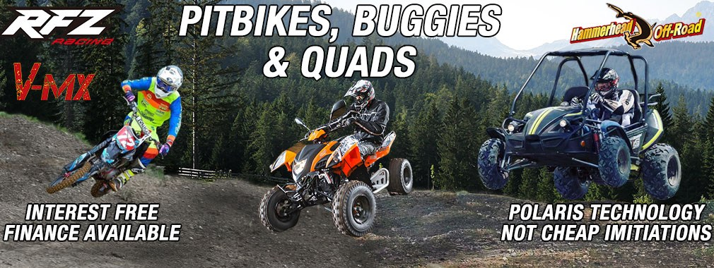Quads, Buggies, Pitbikes