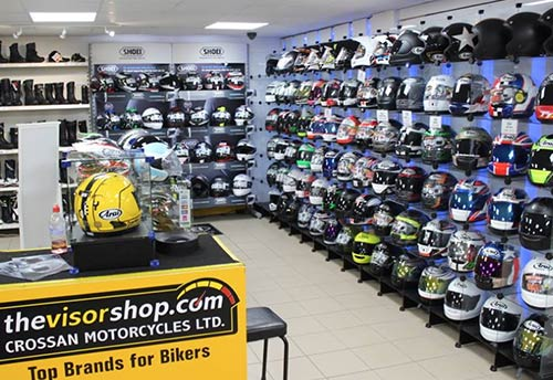 New Showroom 2014 - Helmets Display
