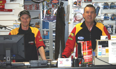 Sean and John - Parts department