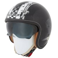 Spada  Helmet Raze Revolution (Black/Grey)