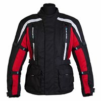 Spada Textile Jacket Core (Black/Red)