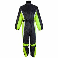 Spada  Waterproof Oversuit 407 One Piece (Black/Fluo Yellow)