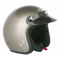 Spada  Helmet Open Face Plain Anthracite