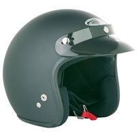 Spada Open Face Helmet (Matt Black)