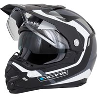 Spada Intrepid Beam Motorcycle Helmet (Black|White|Silver)