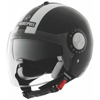 Caberg Riviera V2+ Legend Open Face Helmet (Black/White)