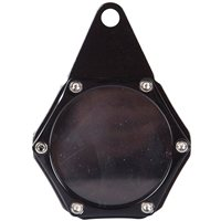 Velo Sport  Sport Tax Disc Holder Hex Anodised Black [TDH006/BK]