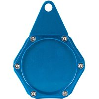 Velo Sport  Sport Tax Disc Holder Hex Anodised Blue [TDH006/BL]