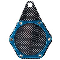 Velo Sport  Sport Tax Disc Holder Hex Carbon Blue [TDH006/C/BL]