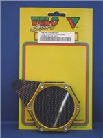 Velo Sport  Sport Tax Disc Holder Hex Carbon Gold [TDH006/C/GO]