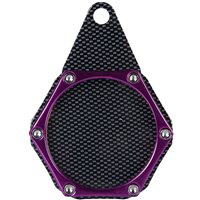 Velo Sport  Sport Tax Disc Holder Hex Carbon Purple [TDH006/C/P]