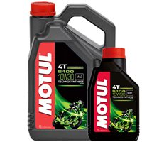 MOTUL 5100 High Performance Semi Synthetic Oil
