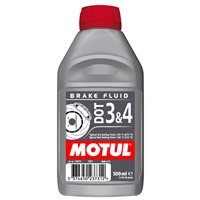 Dot 3 & 4 Brake Fluid 0.5L by MOTUL