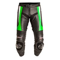 RST BLADE Leather Trousers (Green) 1115