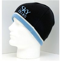 SKY BLUES Beanie by TheVisorShop