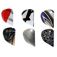 Arai Chaser-V SAJ Holder Sets / Side Pods (Multicolours)