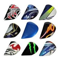 Arai Axces 2 Helmet SAJ Holder Sets / Side Pods (Multicoloured)