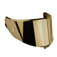 AGV RACE 2 Corsa, Pista, Veloce Helmet A5047 Visor  (Option: Gold Iridium)