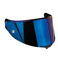 AGV RACE 2 Corsa, Pista, Veloce Helmet A5047 Visor  (Option: Blue Iridium)
