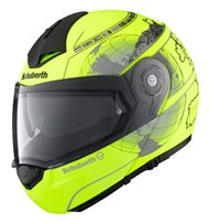 Schuberth C3 PRO Europe Matt Fluorescent Yellow Helmet