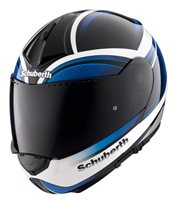 Schuberth C3 PRO INTENSITY WHITE/BLUE