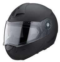 C3 PRO Matt Black Flip Front Helmet  by Schuberth