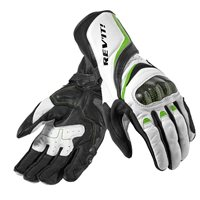 Revit Xena Womens Motorcycle Gloves (White-Acid Green)