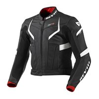 Revit Motorcycle Jacket GT-R (Black-White)