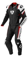 Revit Combi Stellar Two Piece Motorcycle Leathers (Black-Red)