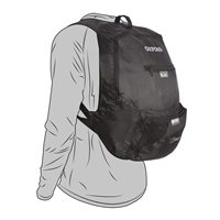 Oxford Handy Sack Fold-Away Back Pack  (OL860)