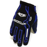 Wulfsport Force MX Gloves (Blue)