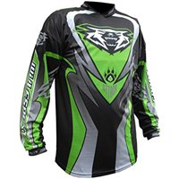 Wulfsport Crossfire Cub Race Shirt Green