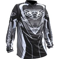 Wulfsport Crossfire Race Shirt Black