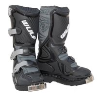 Wulfsport Cub Motocross Boot LA (Black)