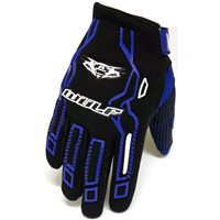 Wulfsport Cub Force MX Gloves (Blue)