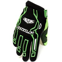 Wulfsport Cub Force MX Gloves (Green)