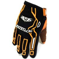 Wulfsport Cub Force MX Gloves (Orange)