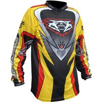 Wulfsport Crossfire Race Shirt Yellow