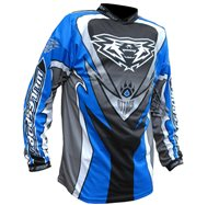 Wulfsport Crossfire Race Shirt Blue