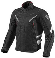 Revit Vapor Textile Jacket (Black/White)