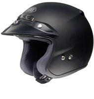Shoei R J Platinum-R Motorcycle Helmet (Matt Black)