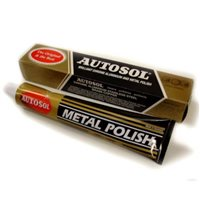 Autosol Chrome Aluminium and Metal Polish 75ml