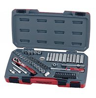 "60 piece 1/4"" Drive Socket Set - T1460 by Teng"