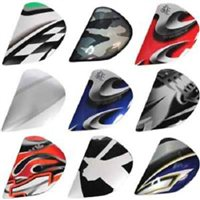 Arai Rebel SAJ Holder Sets / Side Pods (Multicolour)