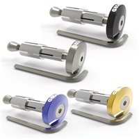 Oxford BarEnds 2 Essential Flat Anodised Ends
