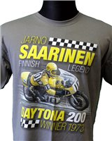 Retro Jarno Saarinen High Quality T-Shirt