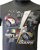 Retro Agostini v's Hailwood - Battle of the Giants T-Shirt